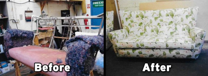 Re-Upholstery Repair Gallery | AtEaseUpholstery